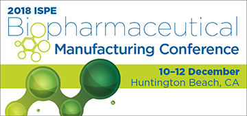 ISPE Biopharmaceutical Manufacturing Conference, Huntington Beach, CA, USA