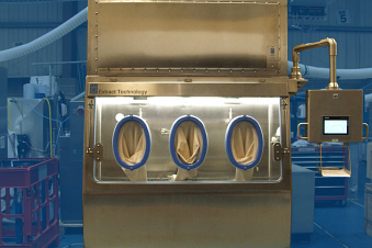 Extract Technology supply two Aseptic Formulation Isolators for a top Generic Manufacturer