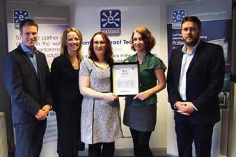 Extract receives The Workplace Wellbeing Charter award