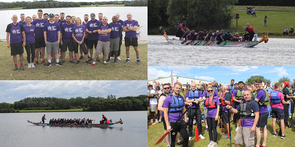 Extract Technology Completes Dragon Boat Challenge