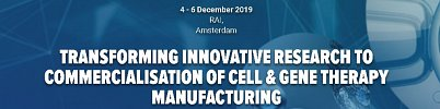 Cell Therapy Manufacturing and Gene Therapy Congress, Amsterdam