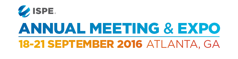 2016 ISPE Annual Meeting & Expo in Atlanta