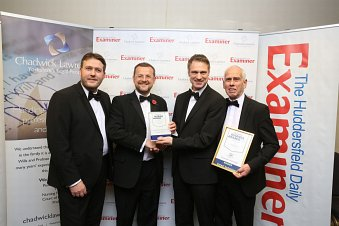 Kirklees Stadium Development honours Extract Technology with the Employer of the Year award