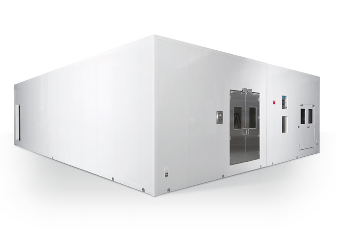 Extended width Mobile Cleanroom