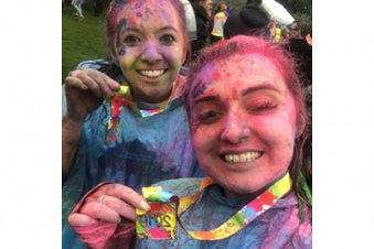 Extract Technology takes on Colour Run!